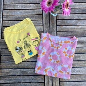 Kids 2x t-shirts